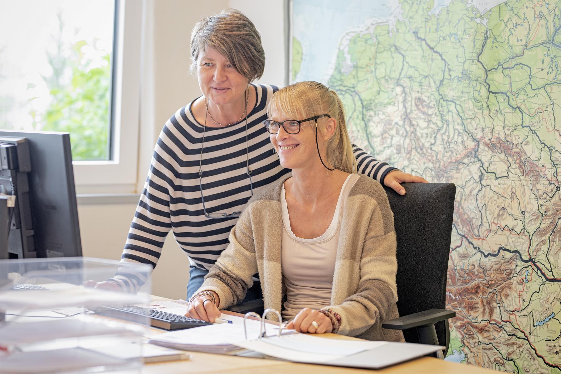 Ellen Thiesejans und Sabine Vierboom